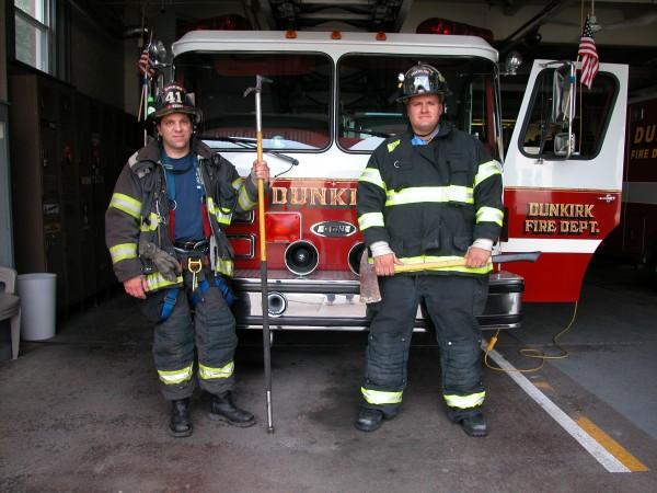 3. Firemen portrait